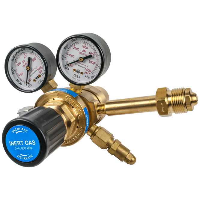 High Pressure Outlet : High outlet pressure regulators